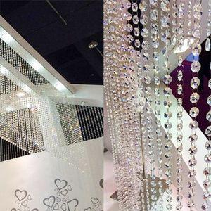 Perlenvorhang Transparent Diamant Kristall Tš¹r Nachbildung
