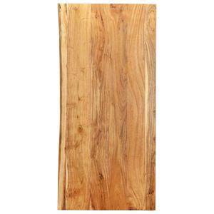 Badezimmer-Waschtischplatte Massivholz Akazie 120 x 55 x 2,5 cm