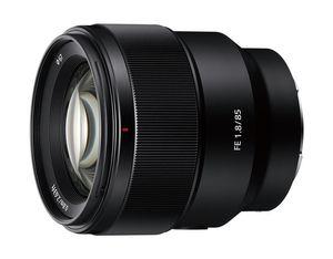 Sony FE 85mm F1.8, MILC/SLR, 9/8, Teleobjektiv, 0,8 m, Sony E, 8,5 cm