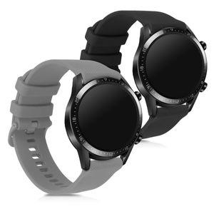 2x Armband kompatibel mit Huawei Watch GT2 (42mm)