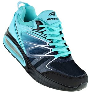 Art 346 Neon Turnschuhe Schuhe Sneaker Sportschuhe Luftpolstersohle Damen, Schuhgröße:38