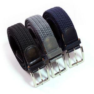 SK elastische Gürtel - Stretch Geflochtene - 3 Stück 110 CM.