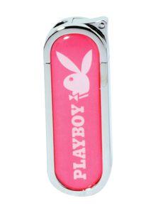 """FEUERZEUG """"Playboy"""" Bunny PINK Gasfeuerzeug Geschenk Metall Piezo Gas Original 97 (Pink EH)"""