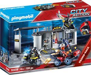 Playmobil 70338 City Action Große Mitnehm-SEK-Zentrale
