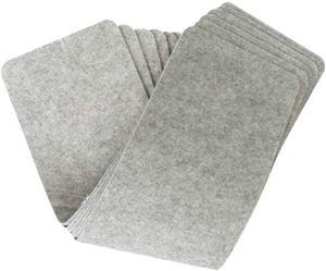 14 Stk. Stufenmatten Treppenteppich Hellgrau 55 * 20 * 0,2 cm