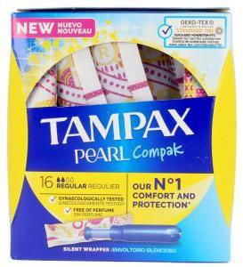 Tampax Pearl Compak Regular 1 x 16 Tampons