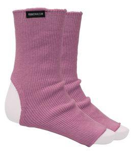 Yoga-Socken rose - Baumwolle