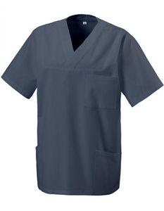 Schlupfkasack - Bügelleicht- und Softausstattung - Farbe: Graphite - Größe: L