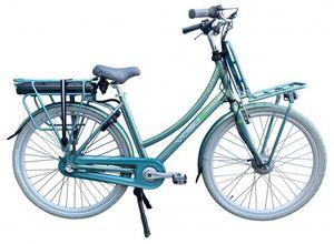 Vogue Transportfahrräder Elektrisch Elite 28 Zoll 57 cm Frau 3G Rollerbrakes Mintblau