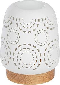 ONVAYA® Duftlampe   Elektrisch   Creme weiß   Aroma Diffuser   Aromalampe   Duftstövchen   Modernes Duftlicht   Natalia