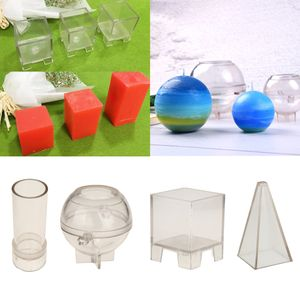 4 Verschiedene Formen Aus Kunststoff Kerze Machen Form Seife Form Kerze Machen Handwerk