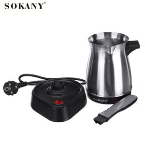 Elektri Türkische Moccakanne Espressokocher Kaffeekocher Kaffeekanne Edelstahl