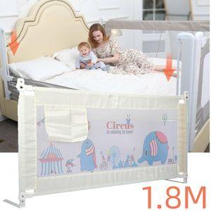 180CM Bettschutzgitter Bettgitter Kinderbettgitter Sicherheit Rausfallschutz Kinderbett Faltbar