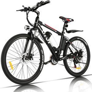 VIVI E-Trekkingrad Elektrofahrrad E-bike Mountainbike mit LED Fahrradlicht, 26 Zoll City Bike E-MTB Elektrisches Fahrrad mit 36V 350W und 21-Gang,für Damen, Herren, Unisex
