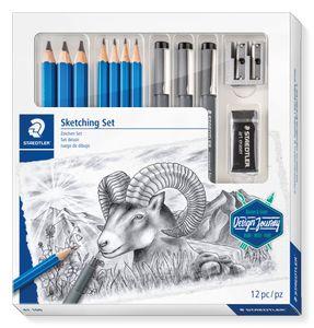 Staedtler Schreibgeräteset Sketching Set - 100% PEFC