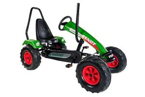 Gokart / Pedal-Gokart Track BF3 Fendt grün mit Überrollbügel DINO CARS