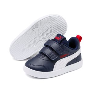 Puma Unisex Kinder Courtflex v2 v INF Sneaker Turnschuhe, Größe:EUR 22 / UK 5 / 14 cm