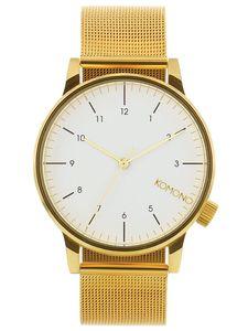 Komono KOMW2358 Winston Royale Gold Armbanduhr