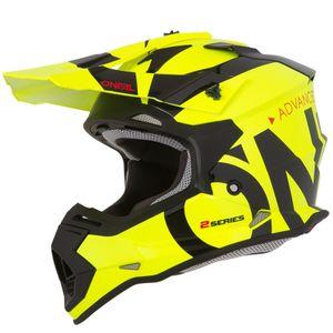 Oneal 2Series RL Slick Jugend Motocross Helm Farbe: Neon Gelb, Grösse: L (53/54)