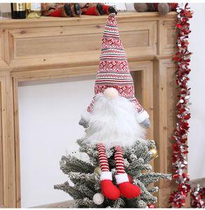 Weihnachtsbaumspitze Tannenbaumspitze Christbaumspitze Weihnachtsdekoration 58 cm Rot