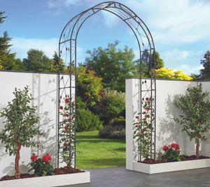 Garden Pleasure Rosenbogen MIRA Metall anthrazit 950506