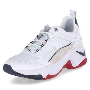Tommy Hilfiger Sneaker Low FASHION WEDGE SNEAKER Weiß Damen