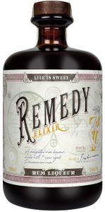 Remedy Elixir Rum Likör auf Basis eines panamischen Rums   34 % vol   0,7 l
