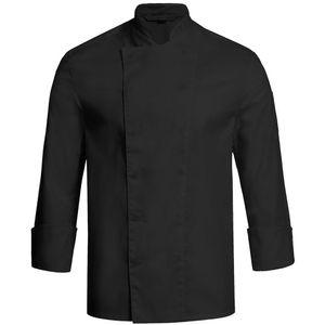 Größe XL Greiff gastro moda Herren Cuisine Basic Kochjacke Regular Fit Schwarz Modell 5580