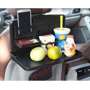 Auto Ruecksitz Tablett zum Schreiben Laptop Trinken Becherhalter Auto Esstisch Tablett Getraenkehalter Palette Klapptisch Handy-Halterungen