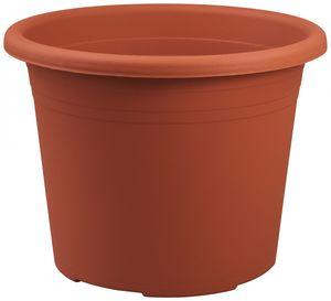 10er Set Topf Cylindro 16 cm aus Kunststoff Sparpaket, Farbe:terracotta