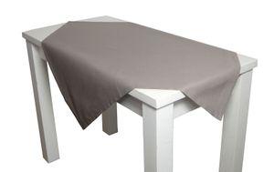 """beties """"Farbenspiel"""" Mitteldecke ca. 80x80 cm 100% Baumwolle platin"""