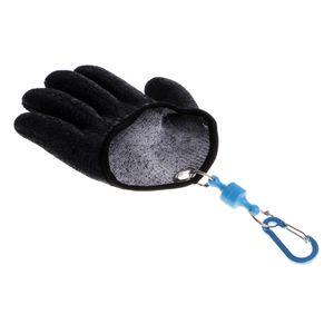 Angelhandschuh XL Schwarz Linke Hand Voller Finger