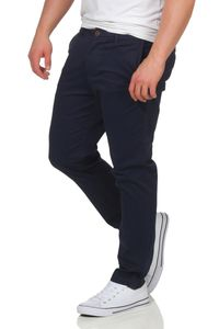JACK & JONES Chinoshose mit Stretchanteil , Farbe:Navy Blazer / Blau, Hosengröße:W34/L36