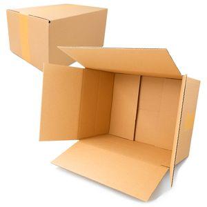 Falt- /Versandkartons | Kartonage | Karton | Versandmaterial | Verpackung Einwellig KK-60 (330 x 240 x 160 mm) 10 Stück