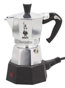 Bialetti Moka Electric 2 - Elektrische Mokkatasse - 0,1 l - Gemahlener Kaffee - 170 W - Schwarz - Ed Bialetti