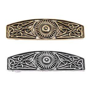 2pcs Vintage Keltische Haarspange Haarclips Französische Haarspangen Barrette Wikinger Schmuck Größe 3