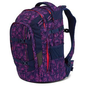 Satch Schulrucksack, Pink Bermuda, Farbe/Muster: pink, blue, neon