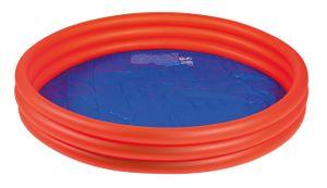 Wehncke aufblasbarer Pool Junior 157 x 28 cm PVC rot/blau