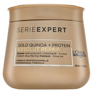 L´Oréal Professionnel Série Expert Absolut Repair Gold Quinoa + Protein Masque Haarmaske für stark geschädigtes Haar 250 ml