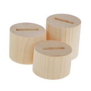 1 Satz Ringhalter (3pcs)  Kräftiges Holz