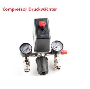 For Kompressor Druckwächter Kompressorschalter Druckregler mit Druckschalter NEU