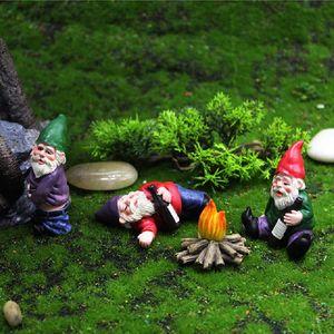 4er Set Gartenfiguren Gartenzwerge Gnome Kit
