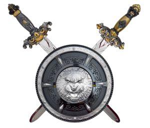 Ritterschwert mit Schild Kinder Mittelalter Krieger Set