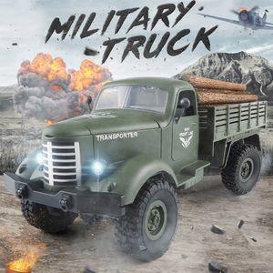 JJR / C Q61 1/16 2,4G 4WD RC Offroad Milit?r Lkw Transporter RTR Kinder Geschenk Kinder Spielzeug