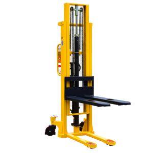 MIDORI Hochhubwagen Handstapler Hydraulik Polyurethan1,0t / 1000kg Hub 3,0m / 3000mm NEU