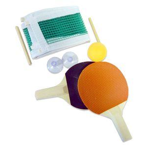 Best Sporting Mini-Tischtennis Spiel, bestehend aus 2 Schlägern, 1 Ball und aufstellbarem Netz