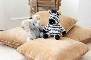 Steiff 064982 Soft Cuddly Friends Ella Elefant  30 cm grau sitzend
