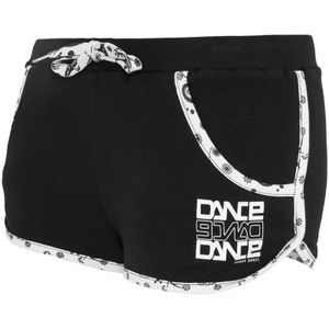 Urban Classics Dance Contrast Piping Hot Pant Frauen Schwarz, Größe: L
