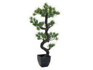 EUROPALMS Bonsai Pinie, Kunstpflanze, 95cm
