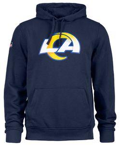 New Era - NFL Los Angeles Rams Team Logo Hoodie - Blau Farbe: Blau Größe: XXL